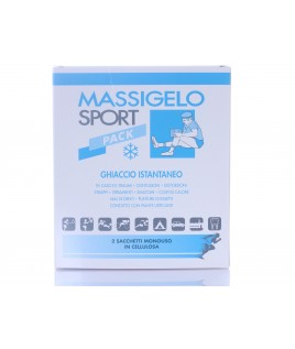 Massigelo Sport Pack 2 buste ghiaccio istantaneo