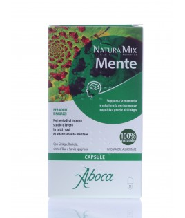 Natura Mix Advanced Mente 50 opercoli aboca