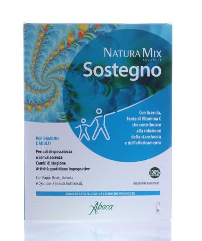 Natura Mix Advanced Sostegno 10 flaconcini aboca