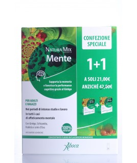 Natura Mix Advanced Mente 10+10 flaconcini