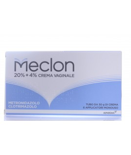 Meclon*crema Vaginale 30g 20%+4%+6 applicatori monouso