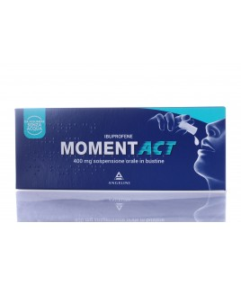Momentact*os Sospensione orale 8 bustine 400mg