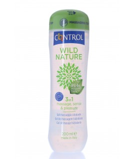 Control Wild Nature 3 in 1 Gel Massaggio Idratante  200 ml