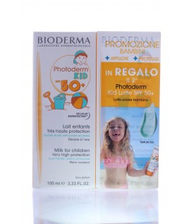 Photoderm Kid  LATTE COLORATO spf50+ 100ML+100ML  BIODERMA BIPACK