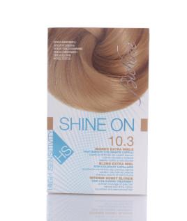 BIONIKE SHINE ON HS Trattamento colorante capelli BIONDO EXTRA MIELE 10.3