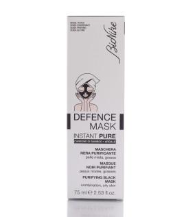 Defence Mask Instant Pure Maschera Nera Purificante 75ml  Bionike