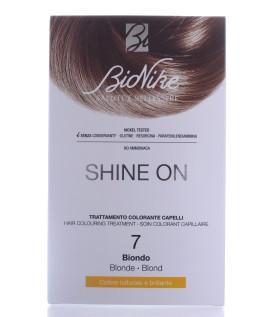 BIONIKE SHINE ON Trattamento colorante capelli BIONDO 7