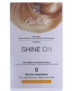 BIONIKE SHINE ON Trattamento colorante capelli  BIONDO CHIARISSIMO 9
