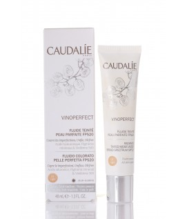 CAUDALIE VINOPERFECT FLUIDO COLORATO PELLE PERFETTA SPF20 1 LIGHT 40ML