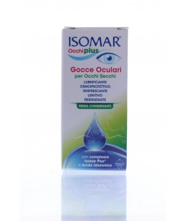 ISOMAR occhiplus 10 ml Collirio con acido Ialuronico per occhi secchi