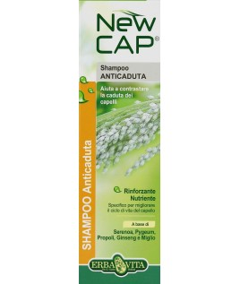 NEW CAP SHAMPOO ANTICADUTA 200ML