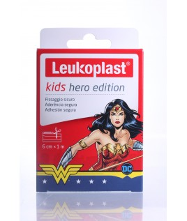 Leukoplast Kids Hero Edition 1x6cm striscia