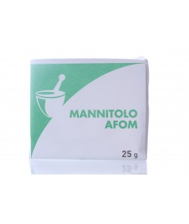 Mannitolo Afom Panetto 25g