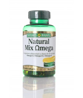 NATURE'S BOUNTY NATURAL MIX OMEGA 60 perle