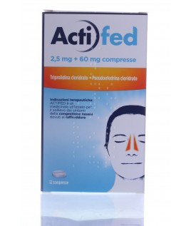 Actifed Compresse 12cpr 2,5mg+60mg