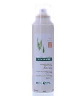 Klorane Shampoo Secco Avena Colorato per capelli da castano a bruni 150 ml