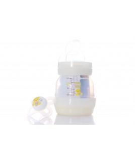 MAM EASY START BIBERON FIRST BOTTLE 130ML +SUCCHIETTO 0-2 START NANO' SILIKONSETA