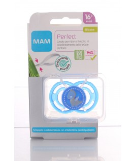 MAM PERFECT SILIKONSETA 16+ 1PZ SUCCHIETTO