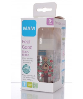MAM FEEL GOOD BIBERON IN VETRO 170ML
