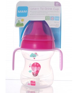 MAM TAZZA LEARN TO DRINK CUP 190ML CON MANICI 6+ MESI