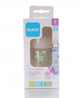 MAM FIRST BOTTLE BIBERON 160ML TETTARELLA  MISURA 1
