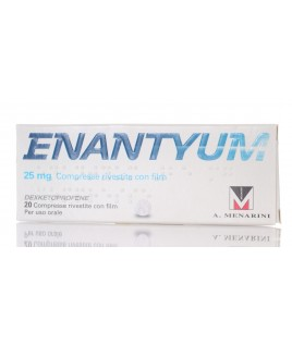 Enantyum*20compresse Rivestite 25mg