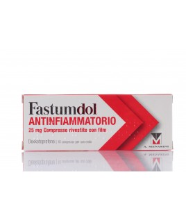 Fastumdol Antinfiammatorio *10cpr 25mg