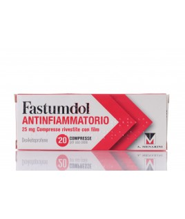 Fastumdol Antinfiammatorio 20 cpr rivestite 25mg