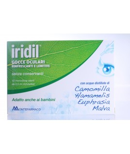 Iridil Gocce Oculari 10 Flaconcini Monodose