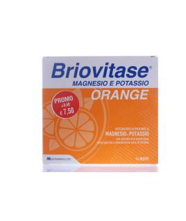 BRIOVITASE ORANGE 14 Bustine Magnesio e  Potassio