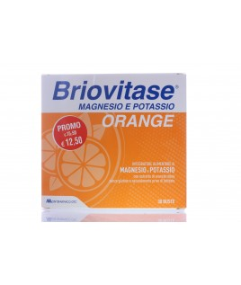 BRIOVITASE ORANGE 30 Bustine Magnesio e  Potassio