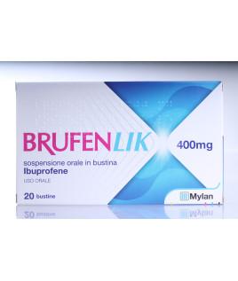 Brufenlik*20 bustine  Ibuprofene 400mg 10ml