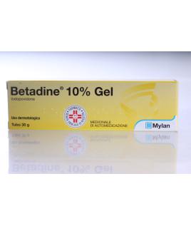 Betadine*gel 30g 10% Iodopovidone