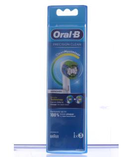 PROCTER & GAMBLE SRL ORALB Testine Ricambio EB20 Precision Clean 3 Pezzi