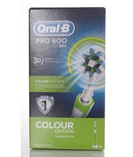 Oral b Pc 600 Verde Crossaction Spazzolino elettrico