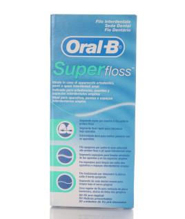 ORAL-B SUPERFLOSS FILO INTERDENTALE 50 FILI
