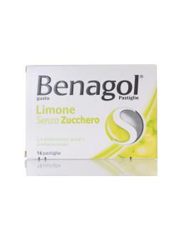 BENAGOL 16 PASTIGLIE GUSTO LIMONE SENZA ZUCCHERO