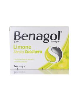 Benagol 36 pastiglie Limone senza zucchero