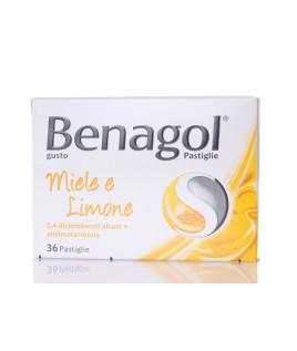Benagol 36 pastiglie Miele Limone