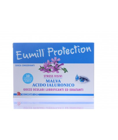 Eumill Protection Collirio Lubrificante e Idratante Monodose 10 Flaconcini