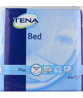 TENA BED PLUS TRAVERSA NON RIMBOCCABILE 60X60CM 40PZ