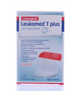 Leukomed T Plus Skin Sensitive Medicazione Trasparente Assorbente  5x7,2