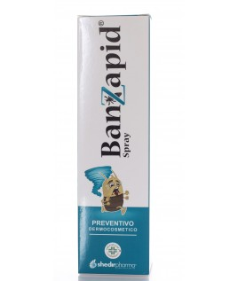 Banzapid Spray Prevenzione Pidocchi 100ml Shedir Pharma srl