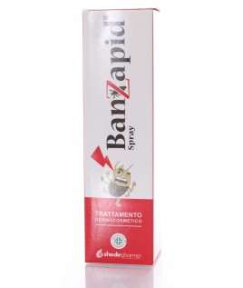 Banzapid Spray Trattamento Pidocchi 100ml Shedir Pharma Srl