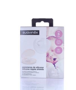 Suavinex Paracapezzoli silicone 2pezzi taglia S