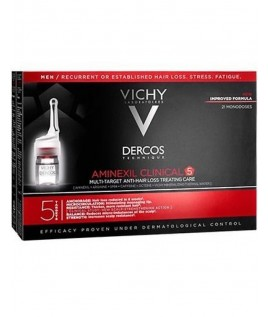 vichy Dercos Aminexil Intensive 5  UOMO 21 fiale anti caduta