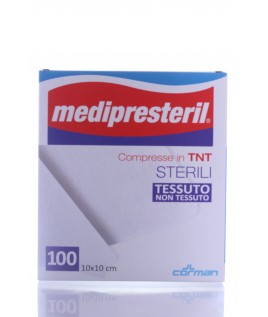 Medipresteril Garza Sterile Tnt 10x10 tessuto non tessuto 100pz