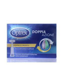 Optrex Doppia Azione gocce oculari Lenitive e lubrificanti 10 monodose