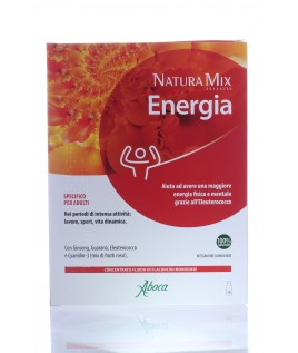 Natura Mix Advanced Energia 10 flaconcini aboca