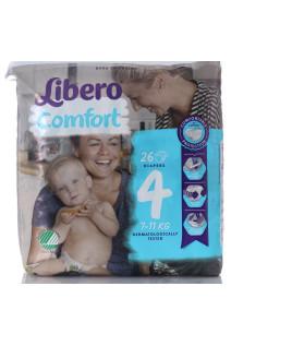 LIBERO COMFORT 7-11KG 26PZ pannolini bambini